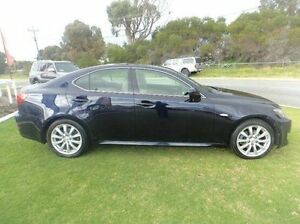 2007 Lexus IS250 GSE20R Sports Luxury Blue 6 Speed Sports Automatic Sedan Mandurah Mandurah Area Preview