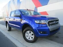 2015 Ford Ranger PX MkII XLS Double Cab Blue 6 Speed Sports Automatic Utility Bunbury 6230 Bunbury Area Preview
