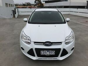 2012 Ford Focus White Manual Hatchback Mornington Mornington Peninsula Preview