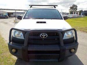 2011 Toyota Hilux White Manual Utility Pakenham Cardinia Area Preview