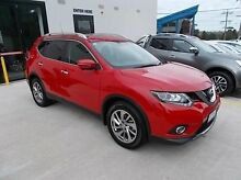 2015 Nissan X-Trail T32 Ti X-tronic 4WD Red 7 Speed Constant Variable Wagon Burwood Whitehorse Area Preview
