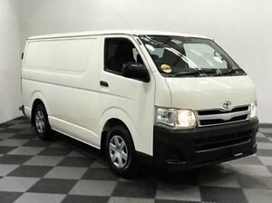 2011 Toyota Hiace KDH201R MY11 LWB White 5 Speed Manual Van Edgewater Joondalup Area Preview