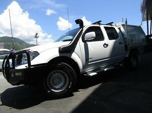 2013 Nissan Navara D40 S7 MY12 RX White 6 Speed Manual Utility Earlville Cairns City Preview