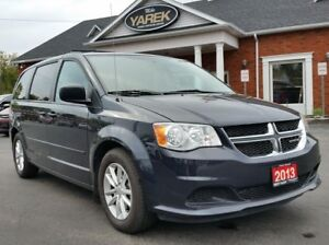 2013 Dodge Grand Caravan SXT, DVD, Back Up Cam, Bluetooth, Rear