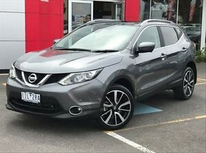 2016 Nissan Qashqai J11 TI Grey 1 Speed Constant Variable Wagon Meadow Heights Hume Area Preview