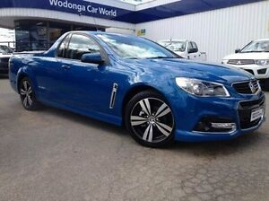 2014 Holden Ute VF MY14 SV6 Ute Storm Blue 6 Speed Manual Utility Wodonga Wodonga Area Preview