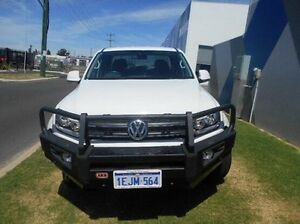 2013 Volkswagen Amarok 2H MY13 TDI420 4Motion Perm Highline White 8 Speed Automatic Utility Bunbury Bunbury Area Preview