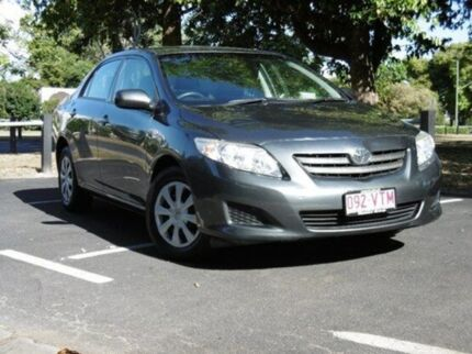 2010 Toyota Corolla ZRE152R Ascent Grey 4 Speed Automatic Sedan Bungalow Cairns City Preview