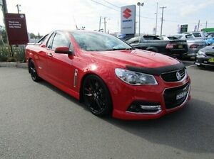 2014 Holden Ute VF MY14 SS V Ute Redline Red 6 Speed Manual Utility Cardiff Lake Macquarie Area Preview