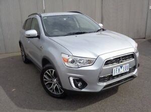 2015 Mitsubishi ASX Silver Constant Variable Wagon Heidelberg Heights Banyule Area Preview