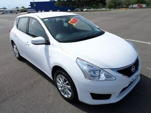 2013 Nissan Pulsar C12 ST-L White 1 Speed Constant Variable Hatchback Hyde Park Townsville City Preview