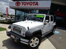 2011 Jeep Wrangler JK MY2010 Unlimited Sport White 5 Speed Automatic Softtop Robina Gold Coast South Preview