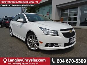 2012 Chevrolet Cruze ECO *ACCIDENT FREE*LOCAL BC TRUCK*LOW KMS*