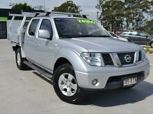 2011 Nissan Navara D40 MY11 ST-X King Cab Silver 6 Speed Manual Cab Chassis Albion Brisbane North East Preview