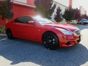 2008 Nissan Skyline CKV36 370GT Type SP Red 5 Speed Sports Automatic Coupe Cannington Canning Area Preview