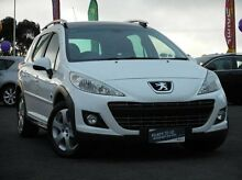 2012 Peugeot 207 A7 Series II MY11 Outdoor Touring White 4 Speed Sports Automatic Wagon Mitchell Park Ballarat City Preview