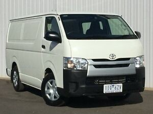 2016 Toyota Hiace White Automatic Van Hoppers Crossing Wyndham Area Preview