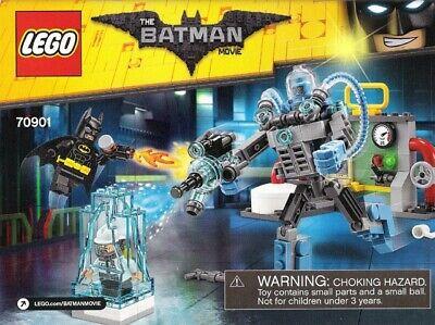 LEGO Batman Movie Mr. Freeze Ice Attack 2016 (70901) Complete w/ minifigs & inst
