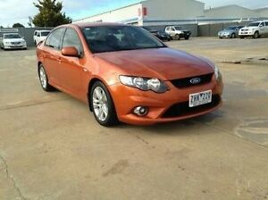 2010 Ford Falcon FG XR6 Orange 6 Speed Auto Seq Sportshift Sedan Melton Melton Area Preview