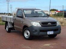 2010 Toyota Hilux TGN16R MY10 Workmate Bronze 5 Speed Manual Cab Chassis Spearwood Cockburn Area Preview