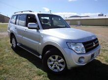 2013 Mitsubishi Pajero NW MY14 GLX-R Silver 5 Speed Sports Automatic Wagon Derwent Park Glenorchy Area Preview