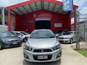 2012 Holden Barina TM MY13 CDX Silver 6 Speed Automatic Hatchback Clontarf Redcliffe Area Preview