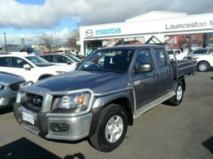 2011 Mazda BT-50 B3000 Boss DX Titanium Grey 5 Speed Manual Cab Chassis Invermay Launceston Area Preview