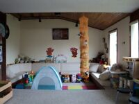 Spaces available in a licensed daycare