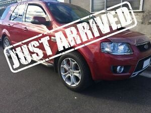 2009 Ford Territory SY Mkii Ghia AWD Red 6 Speed Sports Automatic Wagon Derwent Park Glenorchy Area Preview
