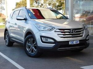 2013 Hyundai Santa Fe DM MY14 Active Silver 6 Speed Sports Automatic Wagon Hadfield Moreland Area Preview