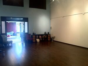 Affordable hourly rental space *900 sqft* Available immediately!