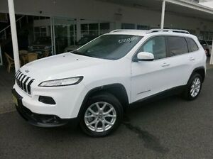 2015 Jeep Cherokee KL MY15 Longitude White 9 Speed Sports Automatic Wagon Coffs Harbour Coffs Harbour City Preview