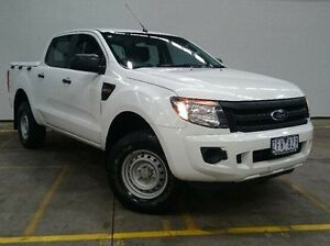 2012 Ford Ranger PX XL Double Cab White 6 Speed Sports Automatic Utility Brooklyn Brimbank Area Preview