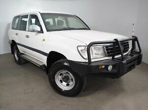1999 Toyota Landcruiser HZJ105R GXL White 4 Speed Automatic Wagon Mount Gambier Grant Area Preview