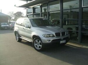 2005 BMW X5 E53 MY05 Steptronic Silver 5 Speed Sports Automatic Wagon Invermay Launceston Area Preview