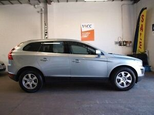 2010 Volvo XC60 DZ MY10 D5 Geartronic AWD Silver 6 Speed Sports Automatic Wagon Highett Bayside Area Preview