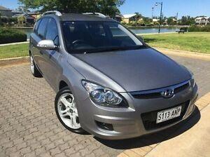 2011 Hyundai i30 FD MY11 Sportswagon cw Wagon Grey 4 Speed Automatic Wagon Ingle Farm Salisbury Area Preview
