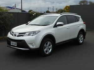2013 Toyota RAV4 ASA44R MY14 GXL AWD White 6 Speed Sports Automatic Wagon Mount Gambier Grant Area Preview
