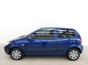 2008 Hyundai Getz TB MY09 SX Blue 4 Speed Automatic Hatchback Braeside Kingston Area Preview