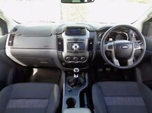 2013 Ford Ranger PX XLT Double Cab Blue 6 Speed Manual Utility Elizabeth Playford Area Preview