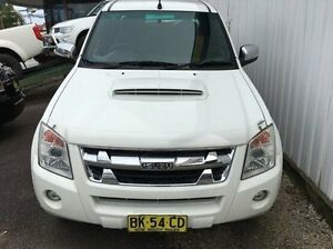 2011 Isuzu D-MAX MY11 LS-U White 4 Speed Automatic Utility Wodonga Wodonga Area Preview