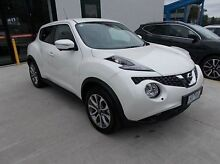 2015 Nissan Juke F15 Series 2 Ti-S X-tronic AWD White 1 Speed Constant Variable Hatchback Burwood Whitehorse Area Preview