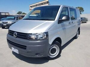 2012 Volkswagen Transporter T5 MY13 TDI340 SWB DSG Silver 7 Speed Sports Automatic Dual Clutch Van Dandenong Greater Dandenong Preview
