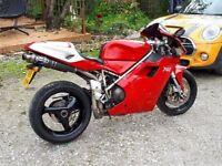 Ducati 748b stunning machine. Px swap cheaper bike or soft top convertible car