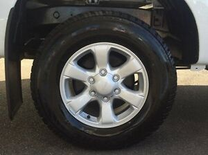 2016 Isuzu D-MAX MY15.5 LS-M Crew Cab White 5 Speed Manual Utility Morwell Latrobe Valley Preview
