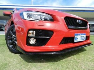 2014 Subaru WRX V1 MY15 Premium AWD Red 6 Speed Manual Sedan Victoria Park Victoria Park Area Preview