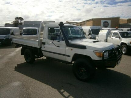 2012 Toyota Landcruiser VDJ79R MY10 Workmate French Vanilla 5 Speed Manual Cab Chassis Pearsall Wanneroo Area Preview