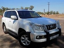 2012 Toyota Landcruiser Prado KDJ150R GXL Glacier White 5 Speed Sports Automatic Wagon Stuart Park Darwin City Preview