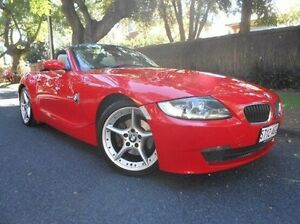2006 BMW Z4 E85 MY07 Steptronic Red 6 Speed Sports Automatic Roadster Prospect Prospect Area Preview