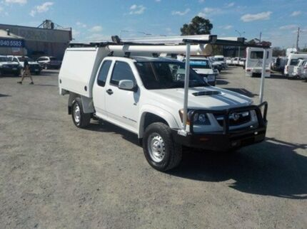 2009 Holden Colorado White Manual Cab Chassis